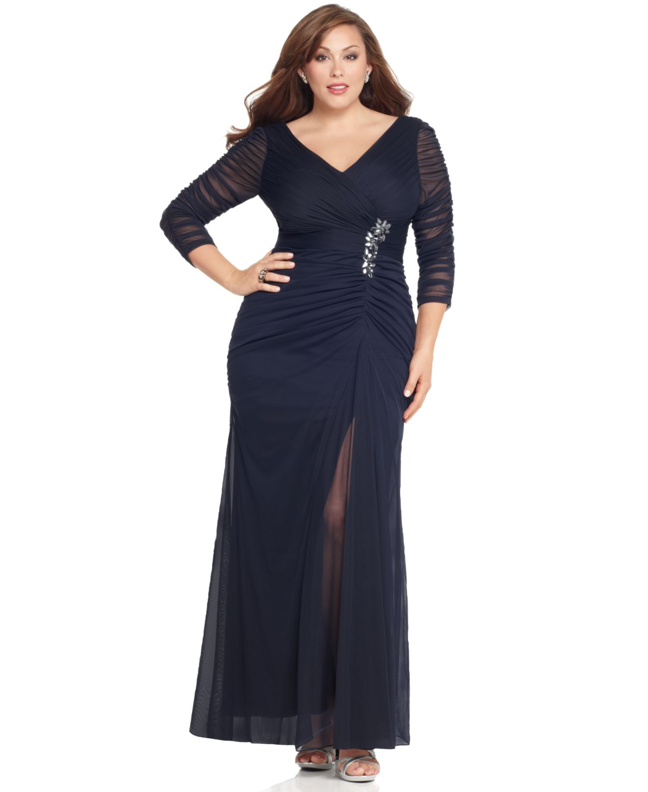 Adrianna Papell Plus Size Evening Dresses
