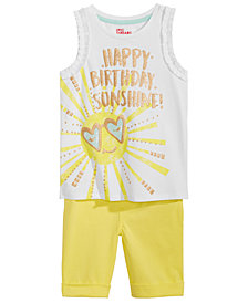 Epic Threads Toddler Girls Tank Top & Shorts, Created for Macy's