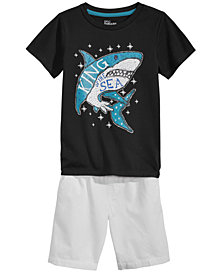 Epic Threads Little Boys Graphic-Print T-Shirt & Shorts Separates, Created for Macy's