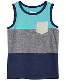 Epic Threads Little Boys Colorblocked Tank Top, Created for Macy's