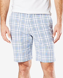 Dockers Men's Stretch Classic Fit 9.5'' Printed Perfect Shorts