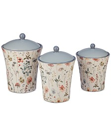 Certified International 6-Pc. Country Weekend Lidded Canister Set