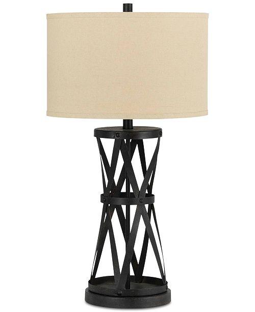 Cal Lighting Passo Iron Table Lamp