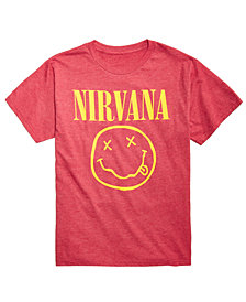 FEA Men's Nirvana Graphic-Print T-Shirt