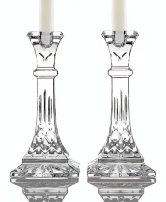 "Gifts Lismore Candle Holders 8"", Set of 2"