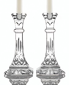"Gifts Lismore Candle Holders 8"" Pair"