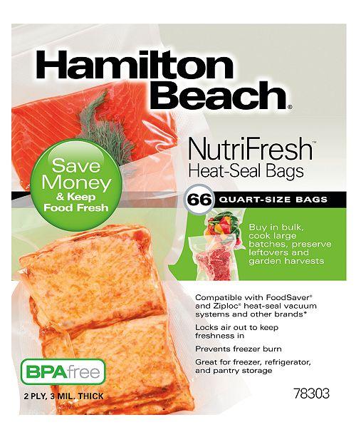 Hamilton Beach NutriFresh™ Heat-Seal Bags