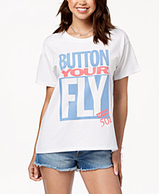 Levi's® Cotton Button Your Fly Graphic T-Shirt