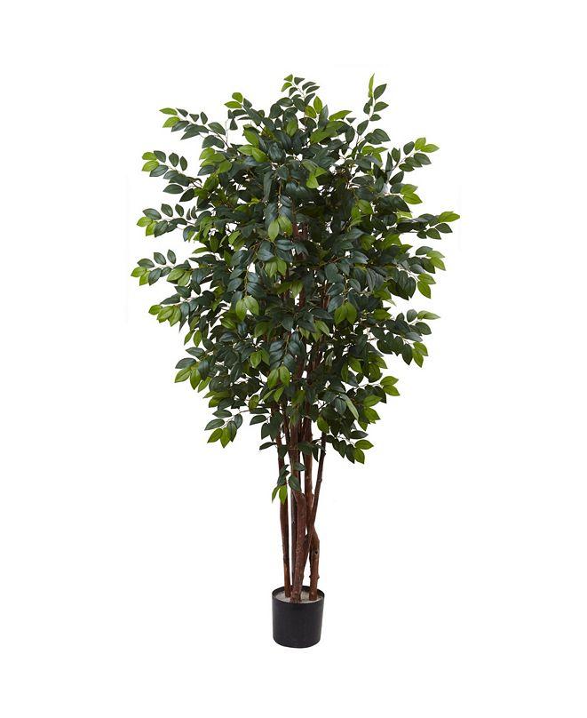 Nearly Natural 7' Artificial Sakaki Tree