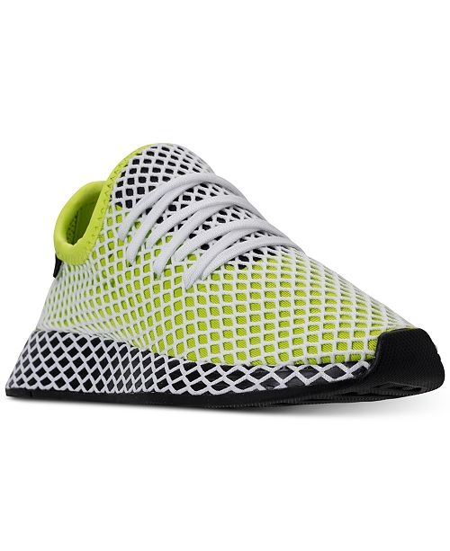 brand new a10e9 9e59a ... adidas Big Boys Deerupt Runner Casual Sneakers from Finish ...