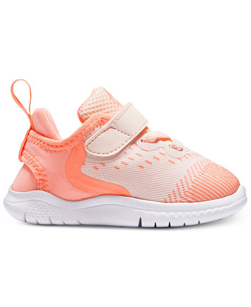 Image 2 of Nike Toddler Girls' Free Run 2018 Running Sneakers from Finish  Line