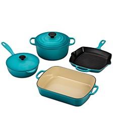 6-Pc. Cast Iron Cookware Set
