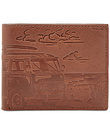 Fossil Men's Cooper Embossed Leather Bifold Wallet