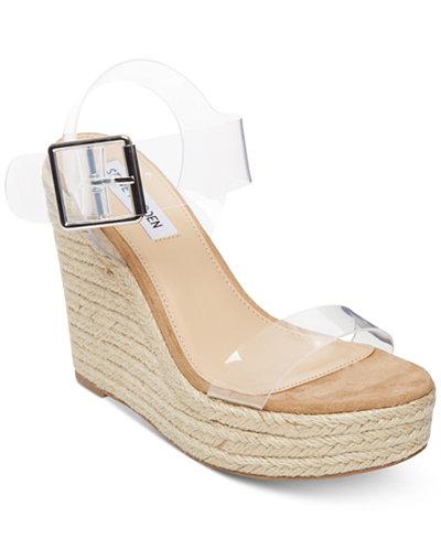 Steve Madden Splash Platform Wedge Sandals