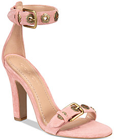COACH Elizabeth Embellished Dress Sandals