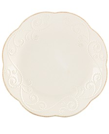 Dinnerware, Set of 4 French Perle Dessert Plates