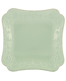 Dinnerware, French Perle Square Dinner Plate