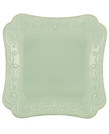 Lenox Dinnerware, French Perle Square Dinner Plate
