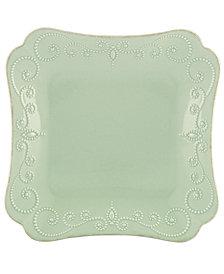 Lenox Dinnerware, French Perle Square Dinner Plate