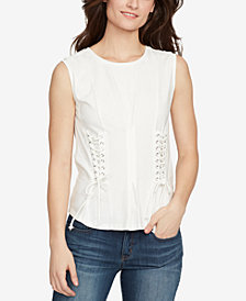 WILLIAM RAST Corset Detail Top