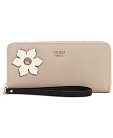 GUESS Hadley Zip Around Wallet
