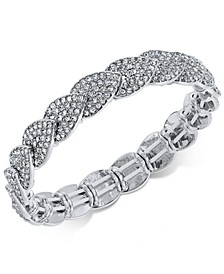 INC Pavé Stretch Bracelet, Created for Macy's