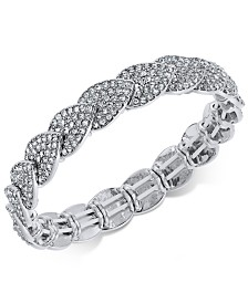 I.N.C. Pavé Stretch Bracelet, Created for Macy's