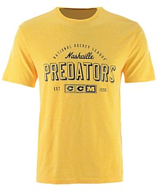 CCM Men's Nashville Predators Speed Zone T-Shirt