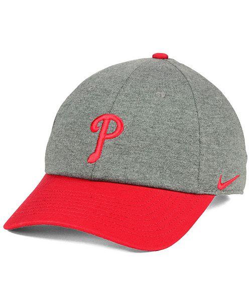info for 93d3d 98aa1 Nike Philadelphia Phillies 2 Tone Heather Cap ...