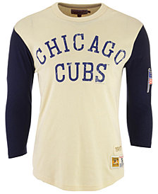 Mitchell & Ness Men's Chicago Cubs Wild Pitch Raglan T-Shirt
