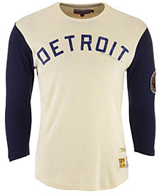 Mitchell & Ness Men's Detroit Tigers Wild Pitch Raglan T-Shirt