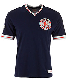 Mitchell & Ness Men's Boston Red Sox Coop Overtime Vintage T-Shirt