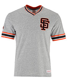 Mitchell & Ness Men's San Francisco Giants Coop Overtime Vintage T-Shirt