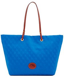 Dooney & Bourke Los Angeles Dodgers Embossed Nylon Addison Tote