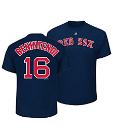 Outerstuff Andrew Benintendi Boston Red Sox Official Player T-Shirt, Toddler Boys (2T-4T)