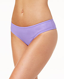 Volcom Juniors' Simply Solid Cheeky Bikini Bottoms