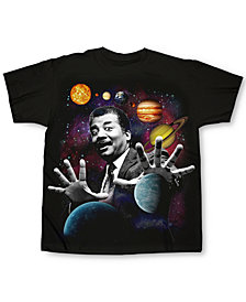 Neil DeGrasse Tyson Planets Men's T-Shirt by Changes