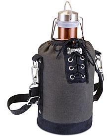 Picnic Time Copper-Tone Growler & Insulated Tote