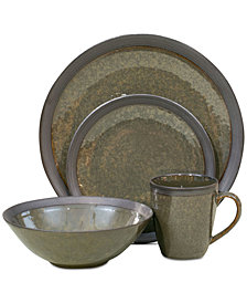 Sango Omega Olive 16-Pc. Dinnerware Set