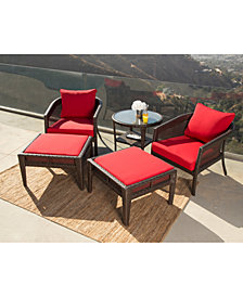 Olympian 3-Pc. Outdoor Chair Set, Quick Ship