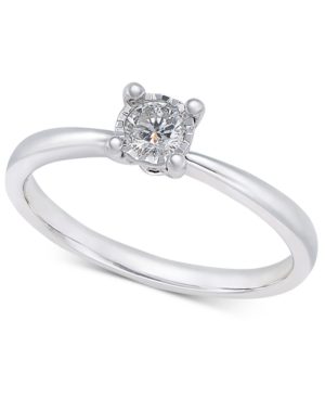 Diamond Solitaire Ring...
