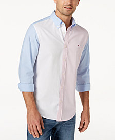Tommy Hilfiger Men's City Colorblocked Shirt, Created for Macy's