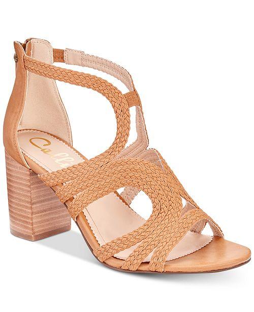 963bfd5dfc9e Callisto Shindig Strappy Block-Heel Sandals - Sandals   Flip Flops ...
