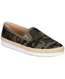 Callisto Tight Line Espadrille Slip-On Sneakers