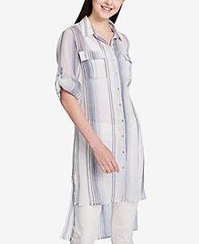 Calvin Klein Cotton High-Low Tunic