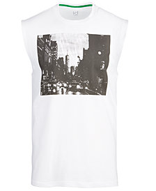 ID Ideology Men's Photo Reel Sleeveless T-Shirt, Created for Macy's