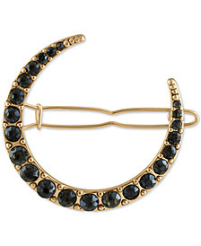 RACHEL Rachel Roy Gold-Tone Crystal Moon Hair Pin