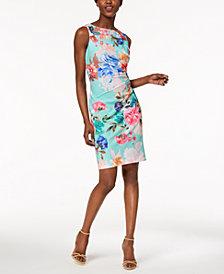 Calvin Klein Petite Starburst Scuba Dress
