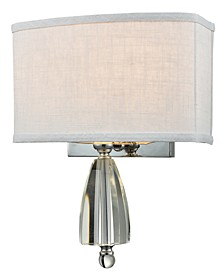 Abbott Crystal Wall Sconce