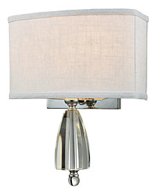 Dale Tiffany Abbott Crystal Wall Sconce